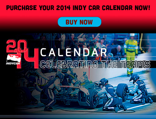 Purchase your 2014 Indy Car Calendar now